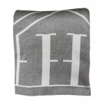 Pled H MONOGRAM Gray