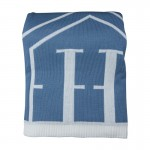 Pled H MONOGRAM Blue